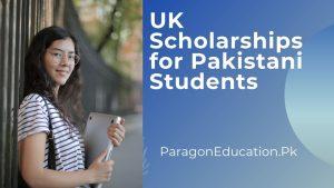 uk scholarships for pakistani students