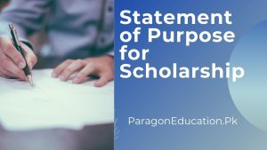 statement of purpose for scholarship