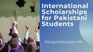 international scholarships for pakistani students
